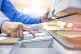 Tắt máy photocopy khi không sử dụng